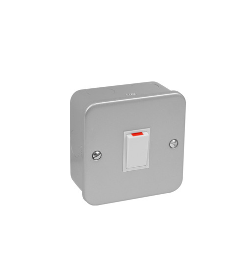 Volex Metal Clad 1gang Switch