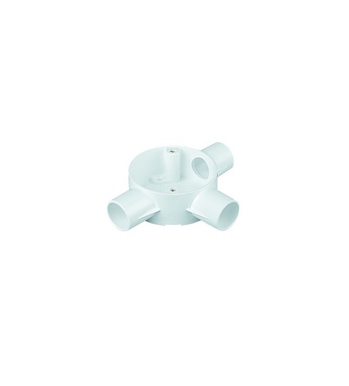 20mm Pvc Tee Box White|Per Pack