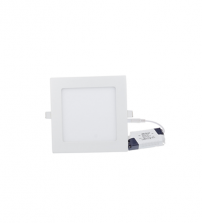 6Watt Square Recessed LED Panel Light