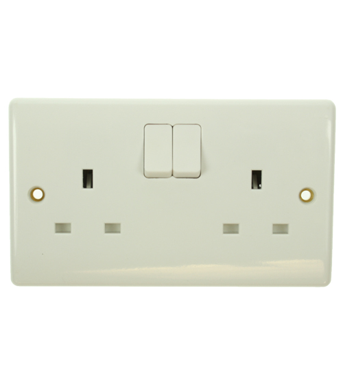BG Nexus 13Amp Double Switched Socket