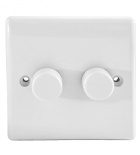 BG Nexus Double Dimmer Switch