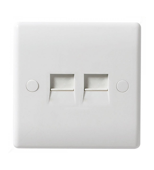 BG Nexus RJ45 Double Socket