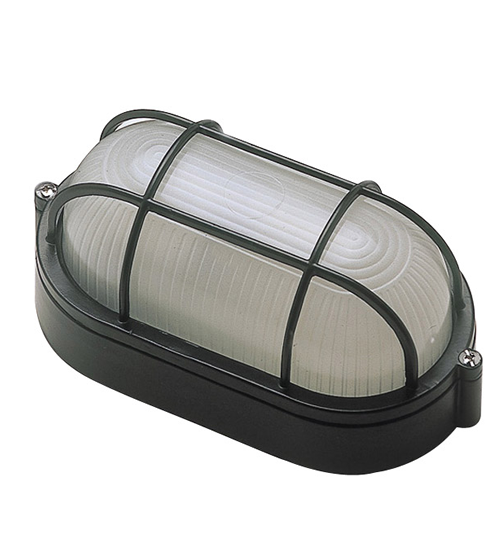 Black oval bulkhead wall security light mozeypictures Image collections
