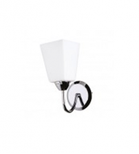 Chrome Glass Cup Wall Light