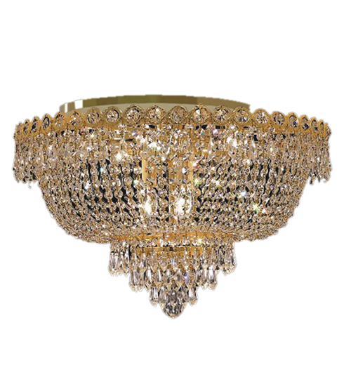 Gold Ceiling Chandelier