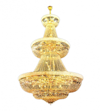 Gold Pendant Chandelier