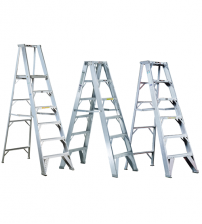 Aluminium Ladders with Self Supported Trestle