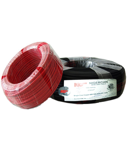 NigerChin 2.5mm Single Core Copper Wire