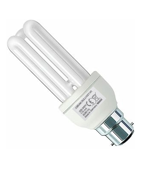Osram B22 (Pin) 18W Energy Saving Bulb