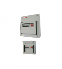 6Way 63A PowerTec Single Phase Consumer Units DB C/W MCB