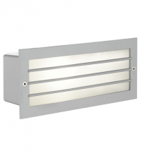 Wall Light Polycarbonate Prismatic Rectangle Grill