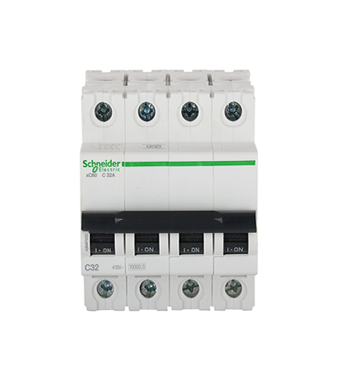 Schneider Electric 32Amp 4Pole MCB
