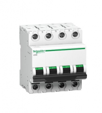 Schneider Electric 63Amp 4Pole MCB