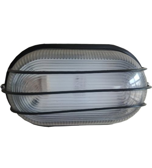 Oval Bulkhead Security Wall Lights