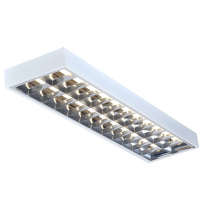Surface Mount Modular Fittings 300mmx1200mm Twin Watt Fluorescent