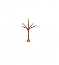 High conductivity Copper thunder protector/lighting arrester