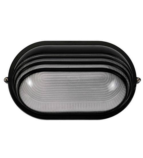 Oval Shape Bulkhead Wall Security Light